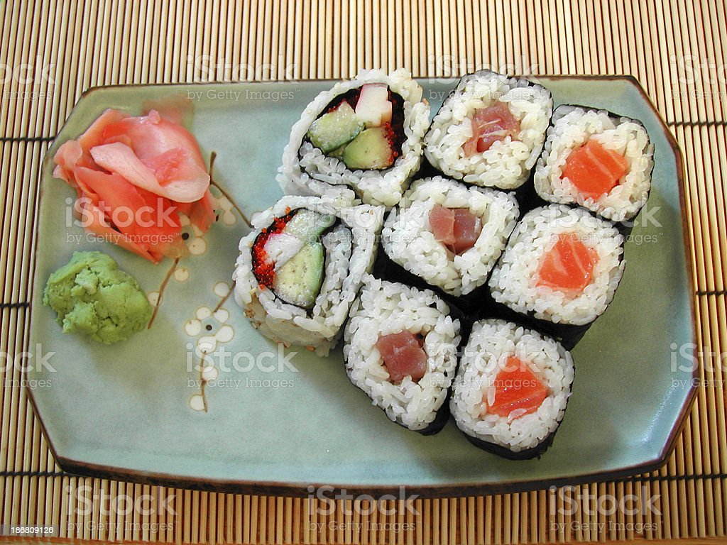 Food - Sushi Series 03 royalty-free stock photo