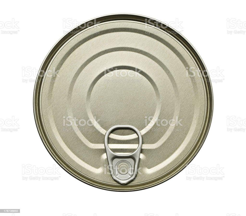 Food Tin Can royalty-free stock photo