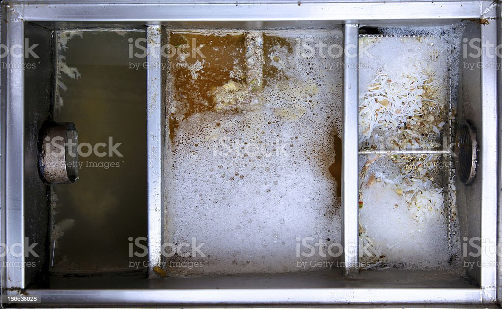 food traps box stock photo