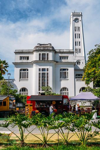 Food trucks at Rio de Janeiro's Porto Maravilha district, inagur