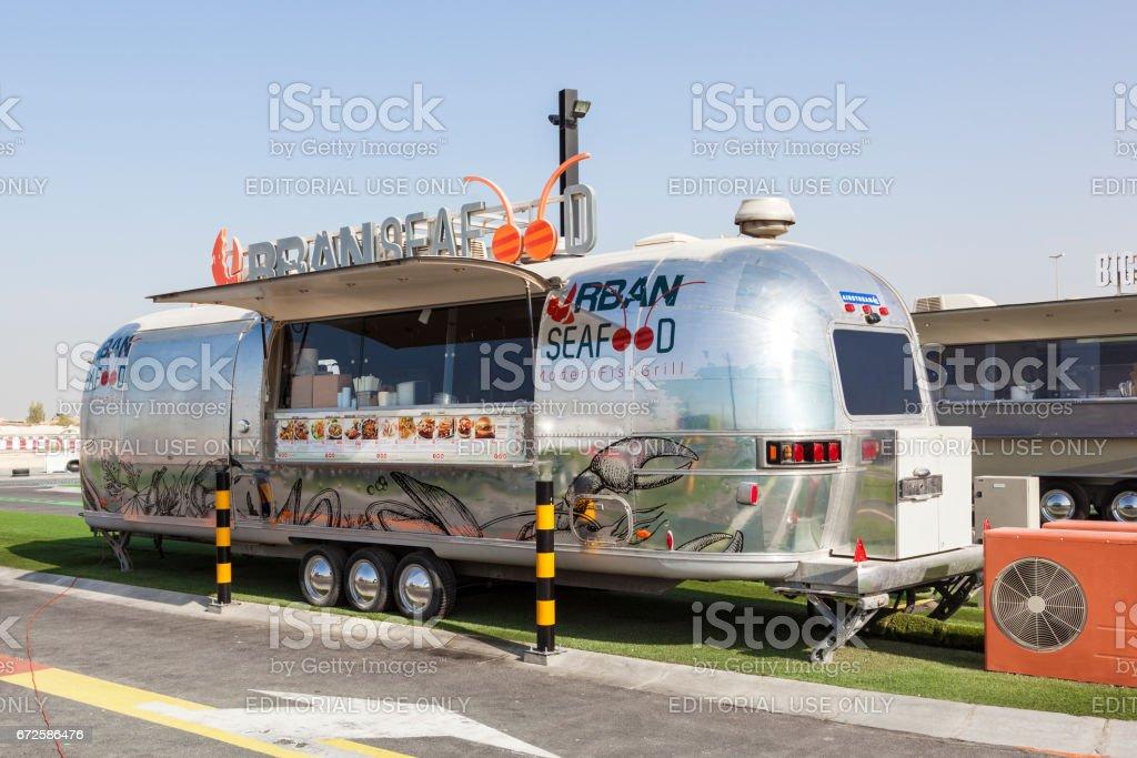 Imbisswagen in Dubai, Vereinigte Arabische Emirate – Foto