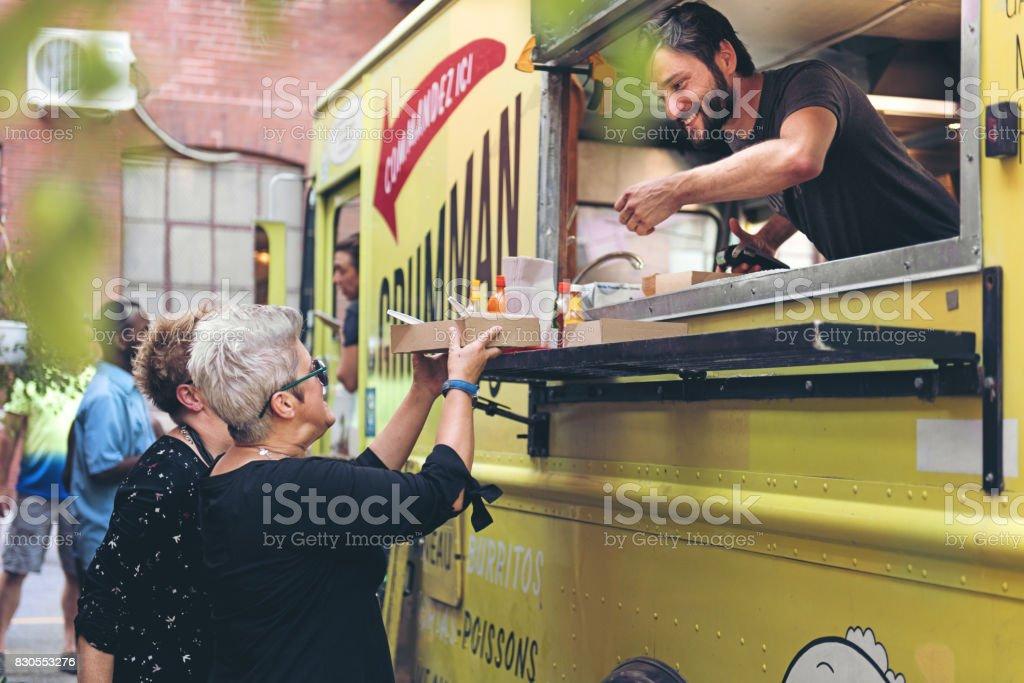 Food Trucks stock photo