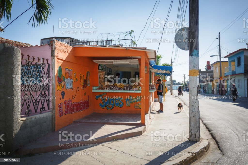 Food vendors royalty-free stock photo