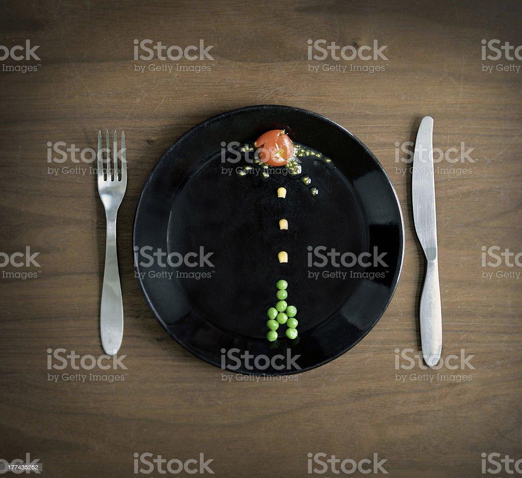 food wars royalty-free stock photo