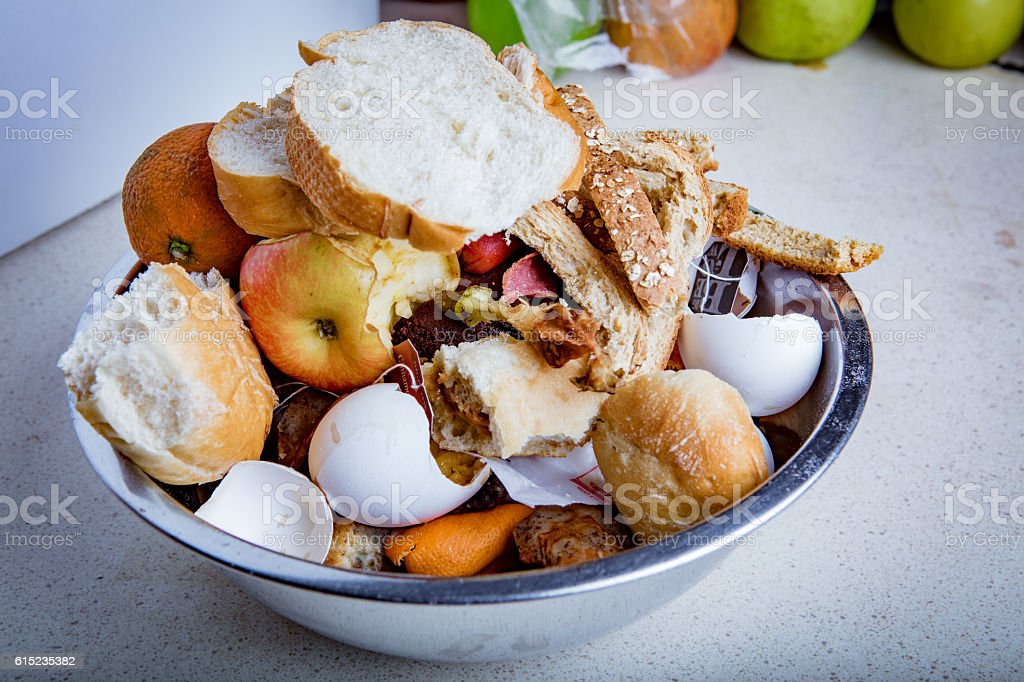 Food Waste America stock photo