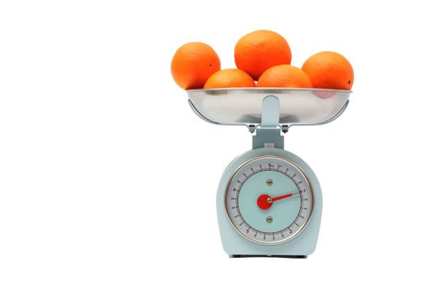 Gewichtsklasse isoliert auf weiß – Foto