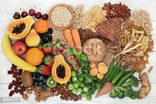 istock Food with High Fiber Content 909204232