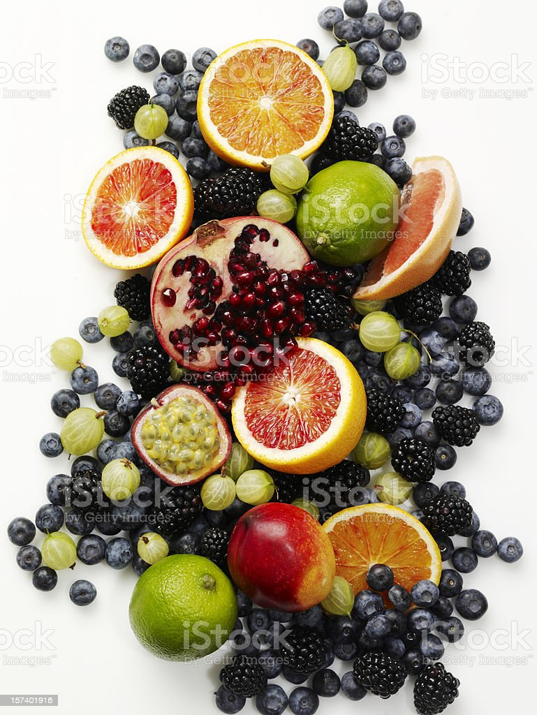 Food-Healthy Fruits stock photo