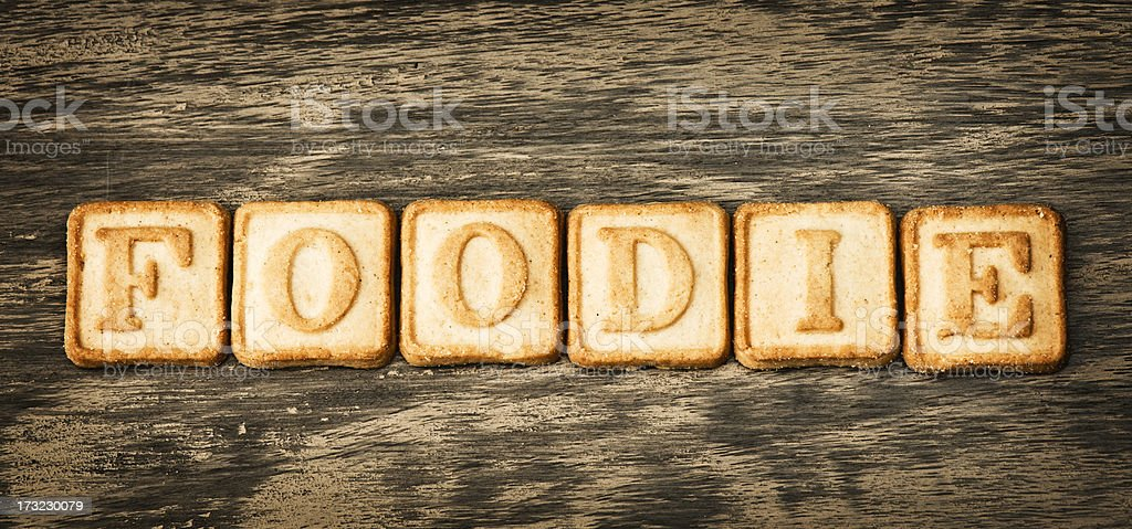 Foodie stock photo