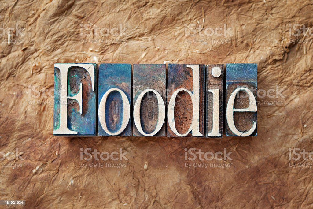 Foodie royalty-free stock photo
