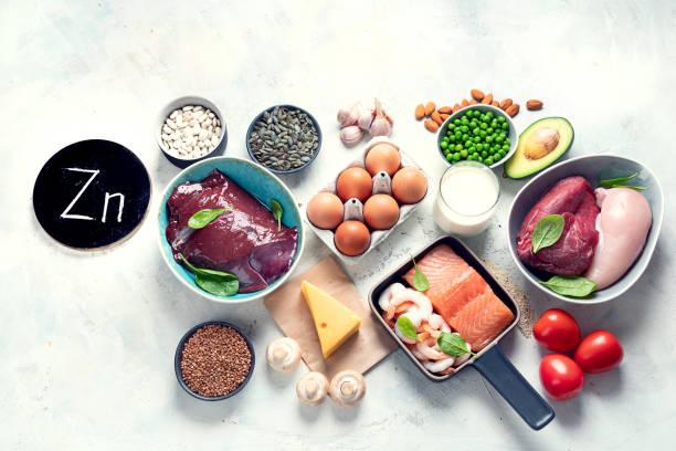 高鋅食品 - 鋅 個照片及圖片檔
