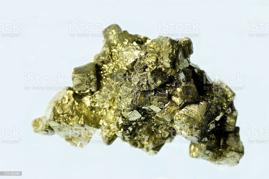 Fool's Gold stock photo