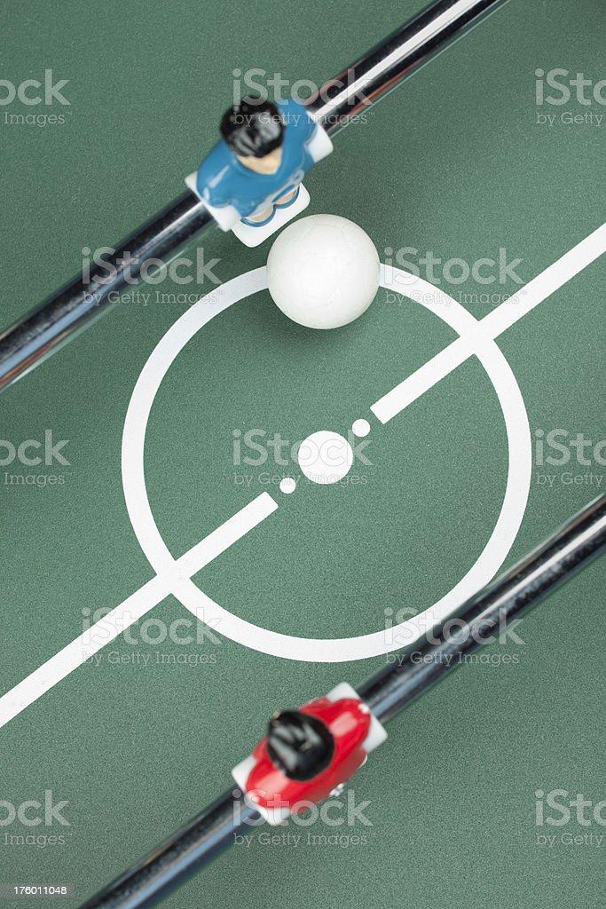 Foosball game stock photo