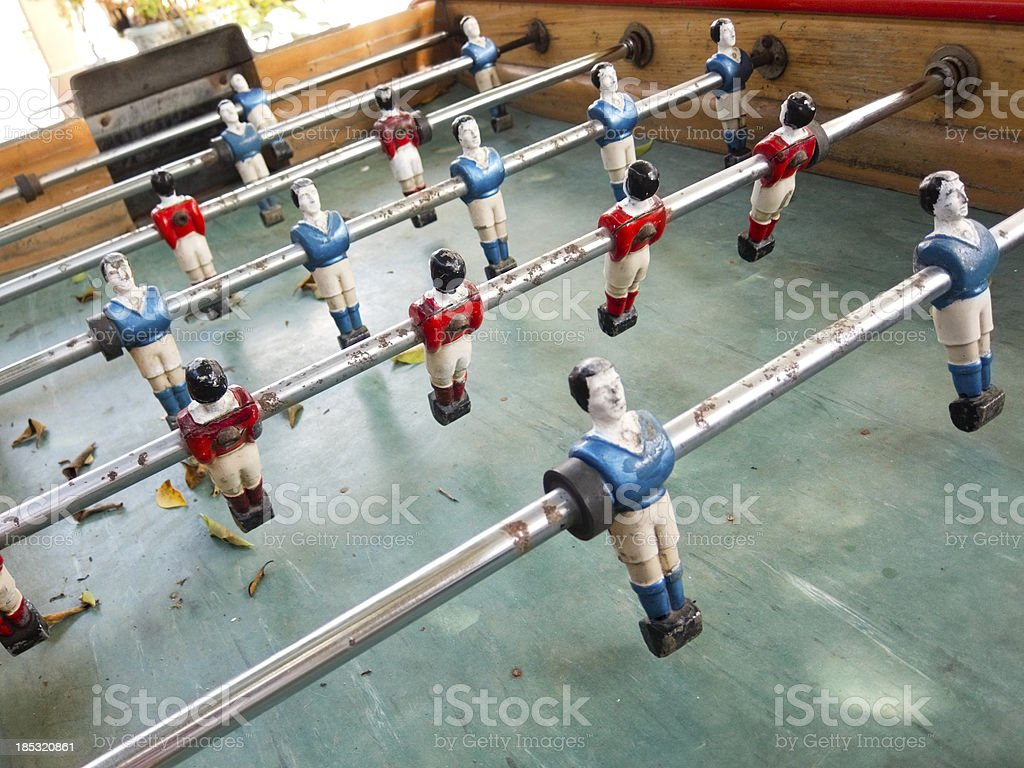 Foosball royalty-free stock photo