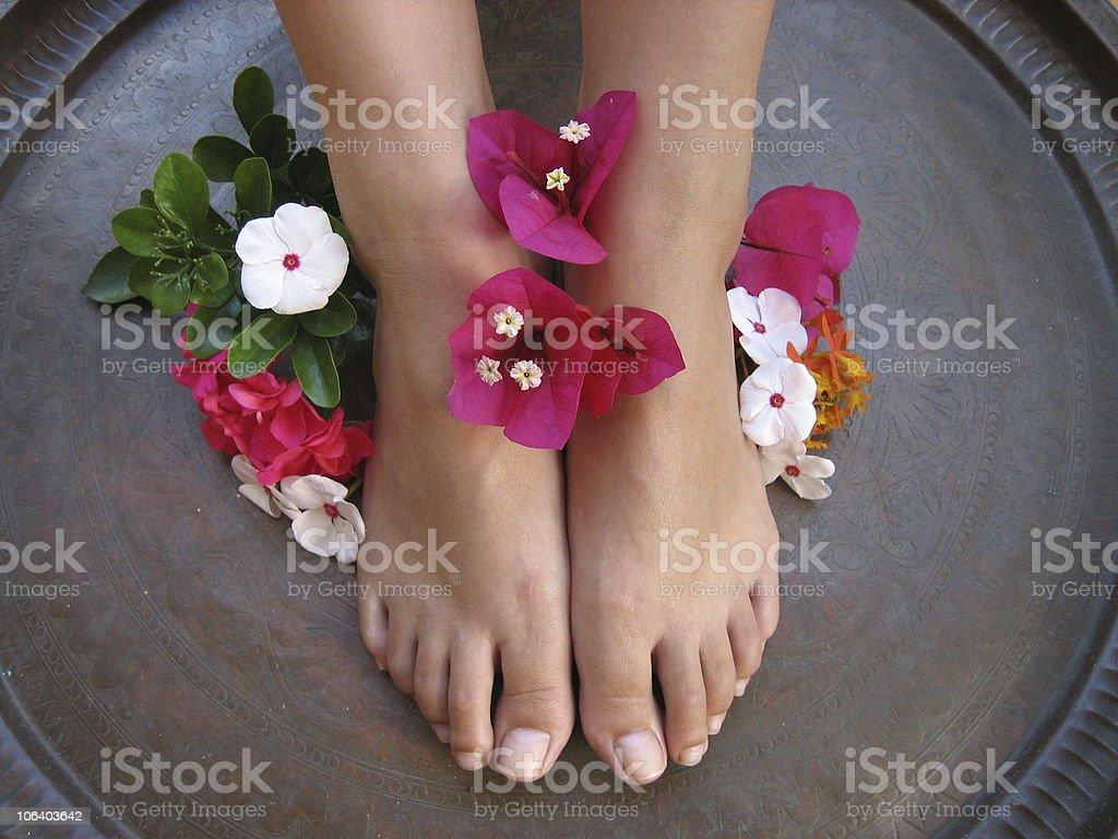 Foot Bath 1b royalty-free stock photo