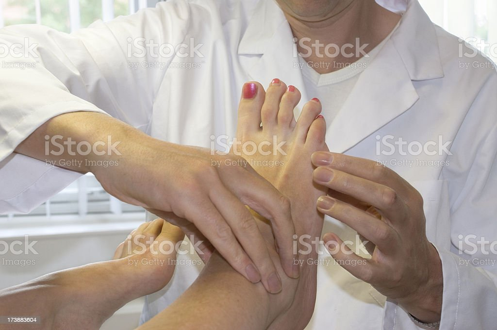 Foot Care royalty-free stock photo