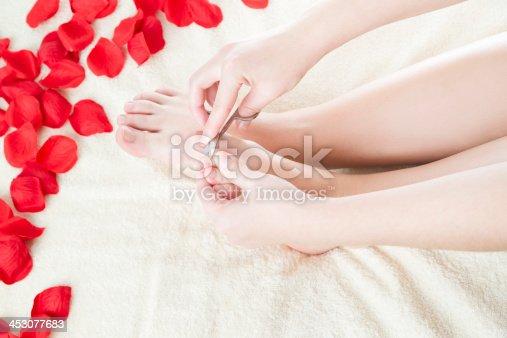 istock Foot care 453077683