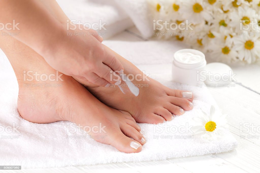 Foot Care stock photo