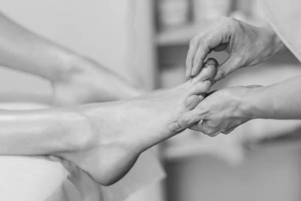 Fußmassage im salon – Foto