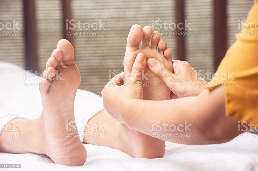 Foot massage  – Foto