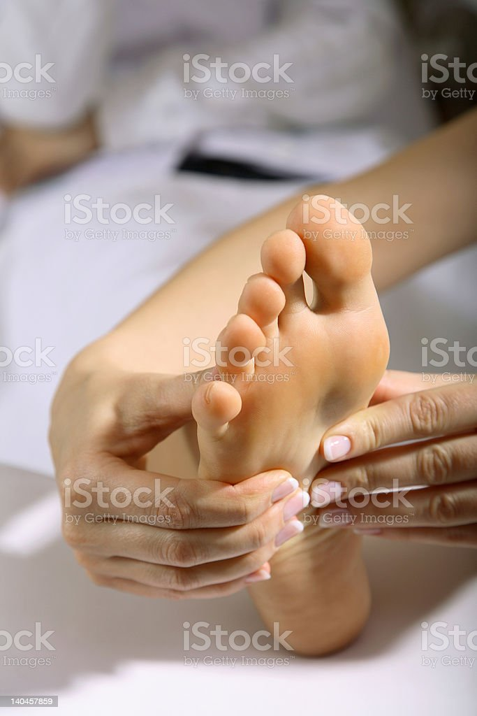 Foot Mssage#6 royalty-free stock photo
