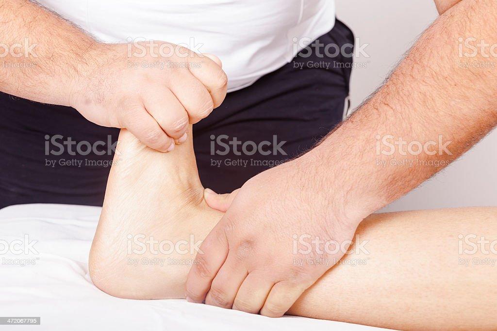 foot pain royalty-free stock photo