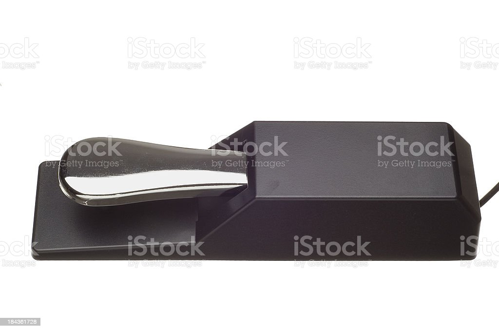 Foot Pedal stock photo