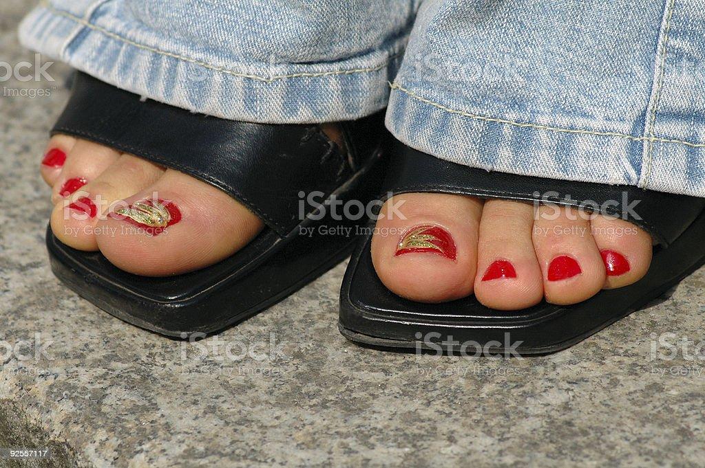 foot royalty-free stock photo