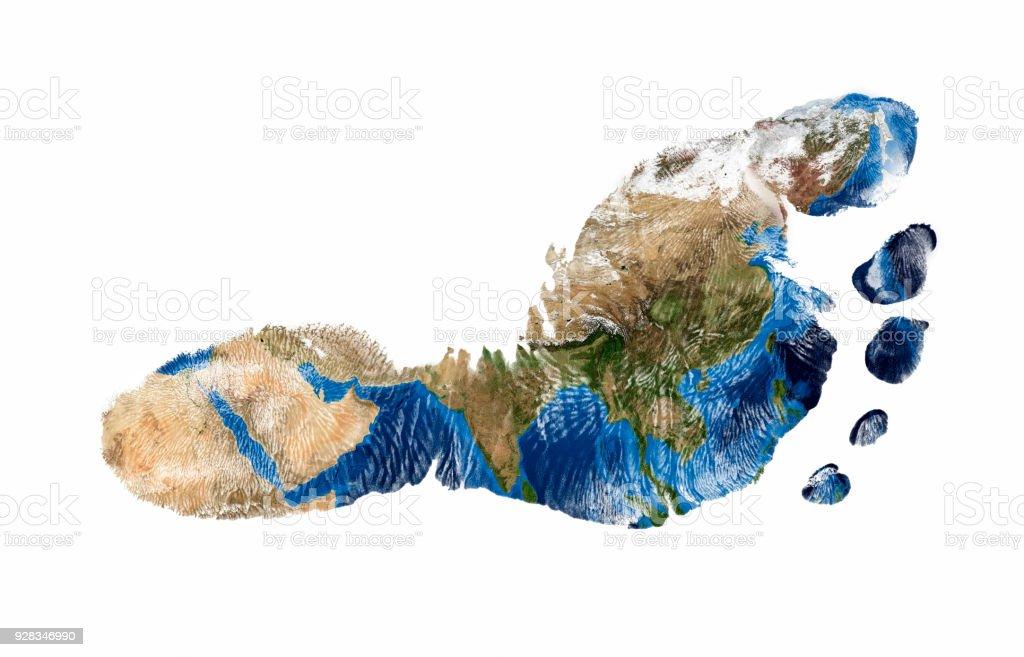 Fußdruck Asiens – Foto