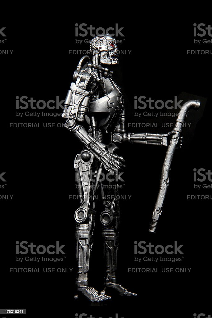 Foot Soldier of the Apocalypse stock photo