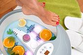 Feet masage