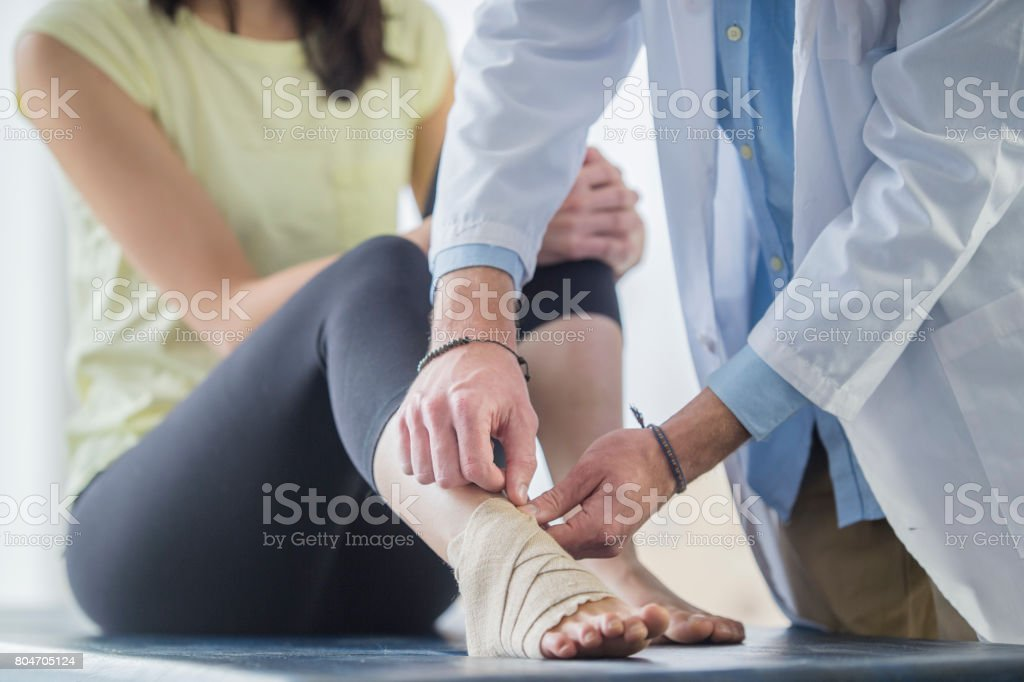 Foot Support stock photo