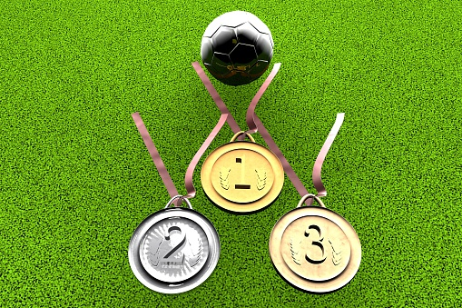 istock Football and medals 497389417