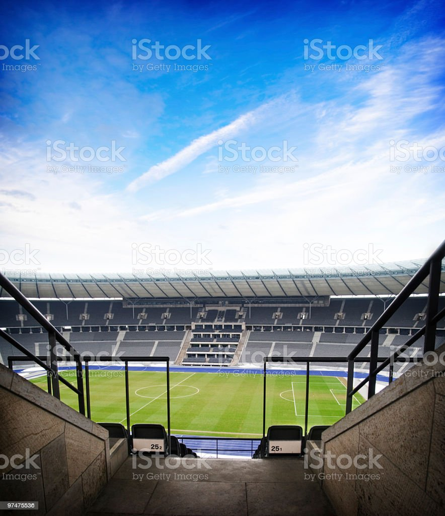 Football Arena royalty-free stock photo