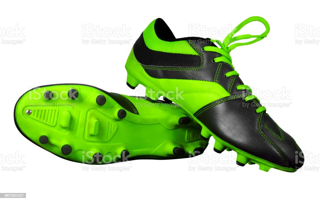 Football boots isolated foto stock royalty-free