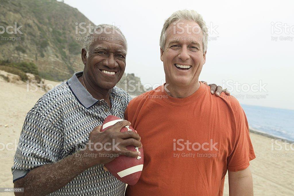 Football Buddies stock photo