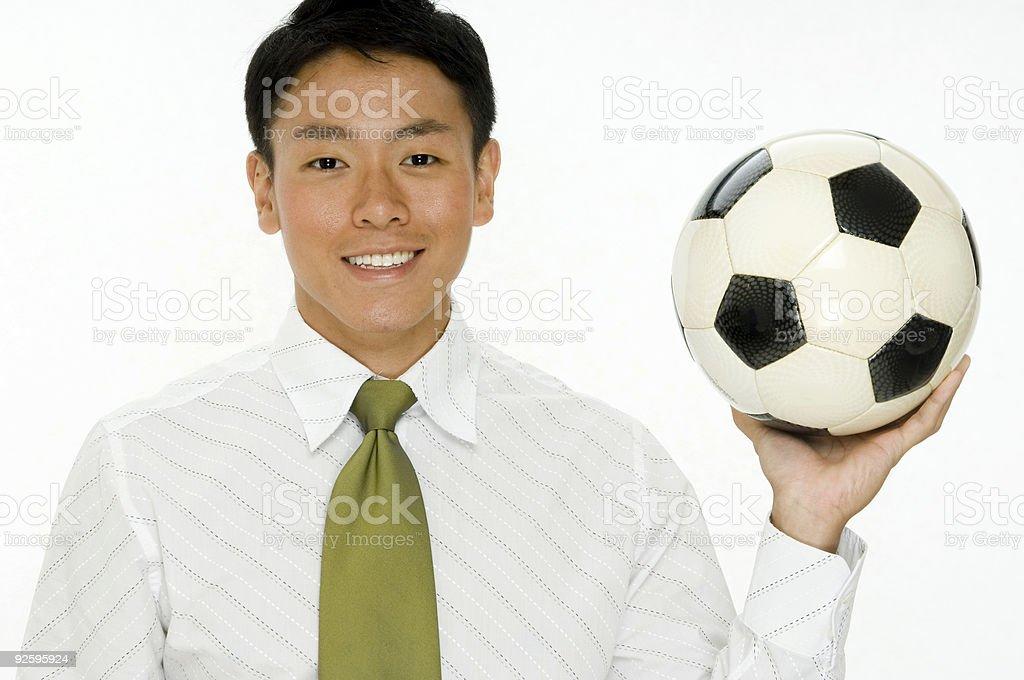 Football Business royalty-free stock photo