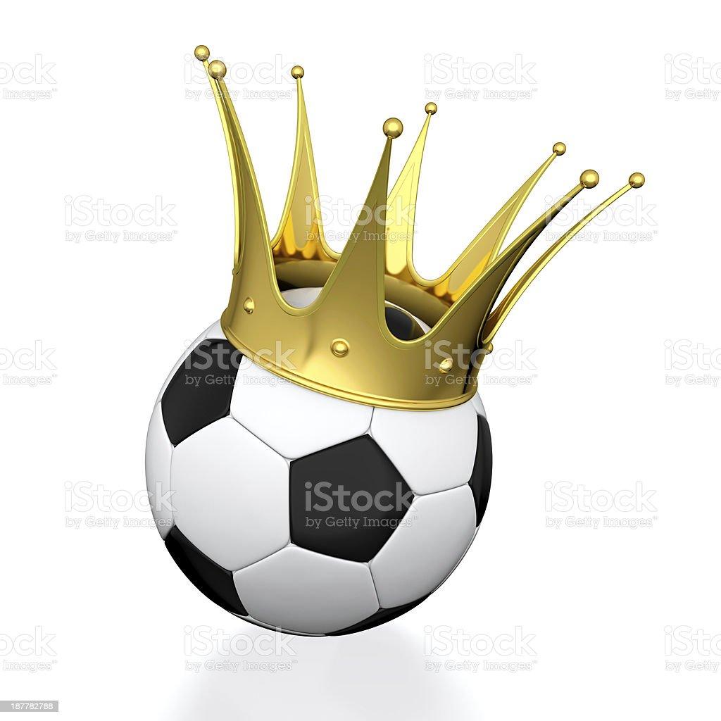 Football champion royalty-free stock photo