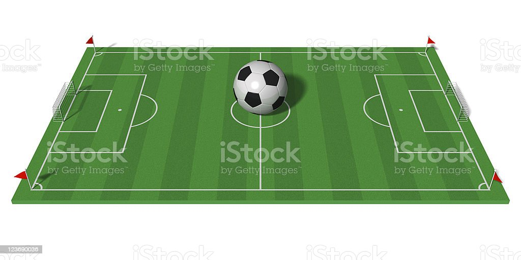 Football championship concept royalty-free stock photo