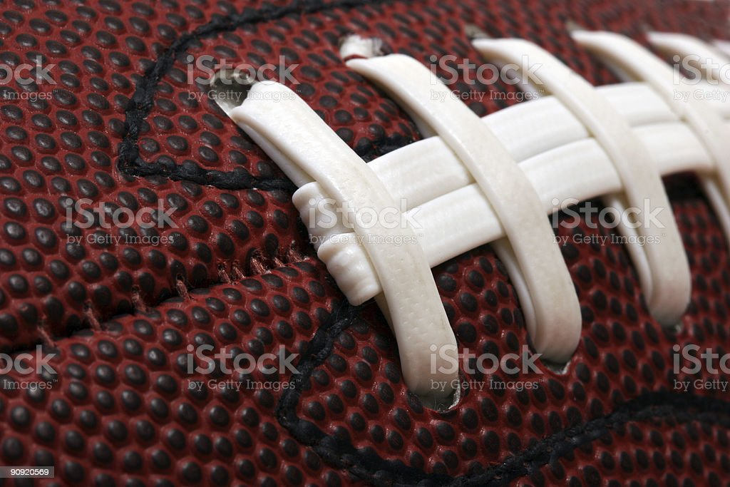 Football close-up stock photo