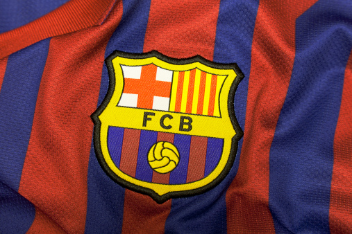 Football Club Barcelona Crest.