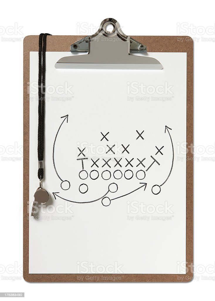 Football Coach stock photo