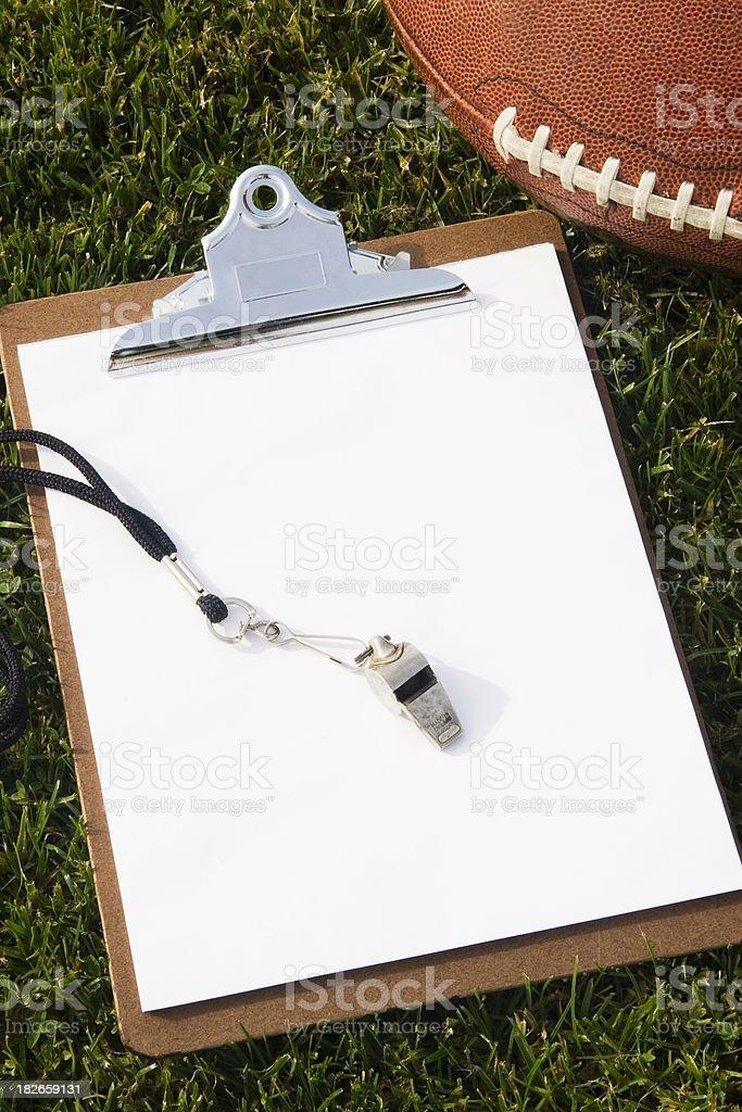 Football Coach royalty-free stock photo
