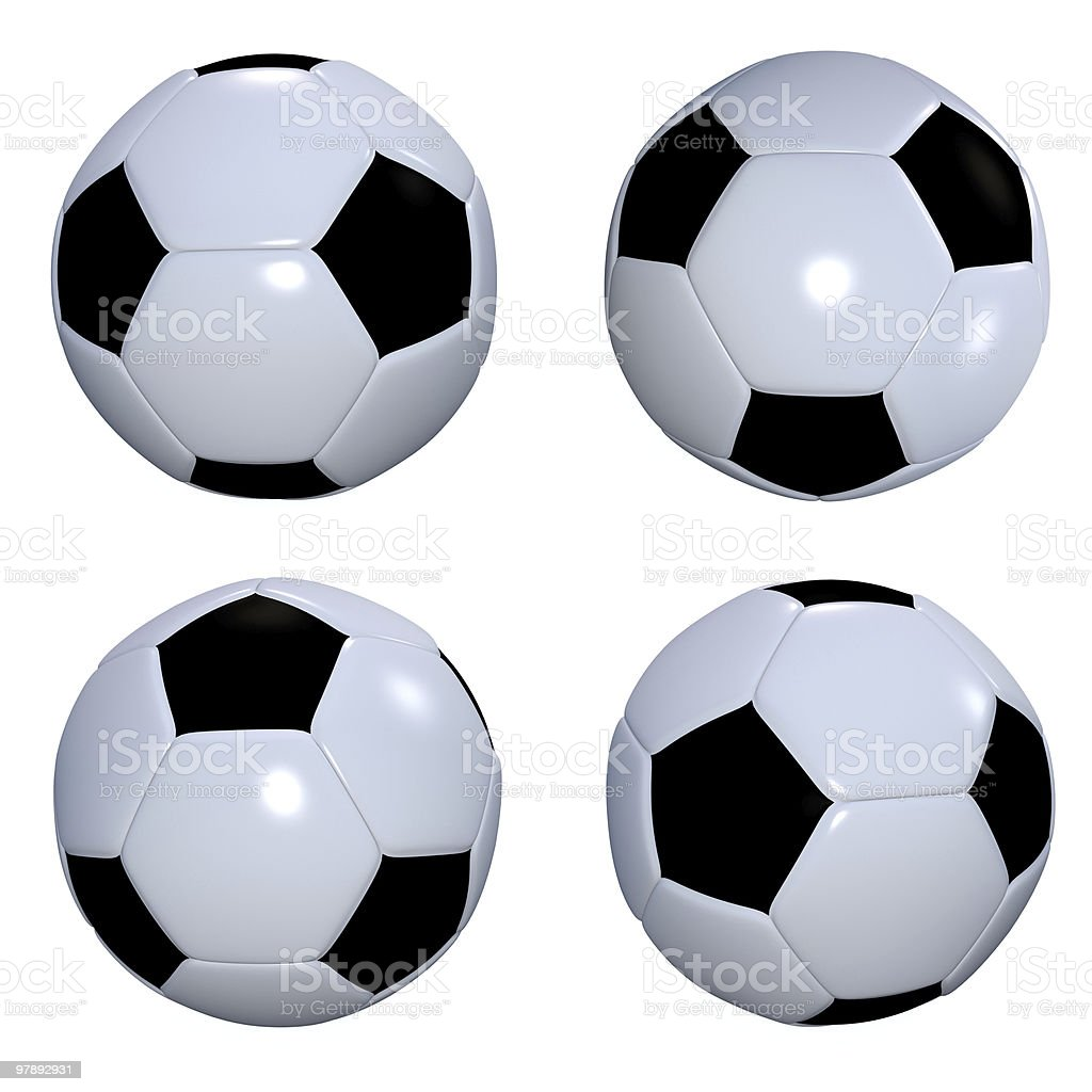 football collection royalty-free stock photo
