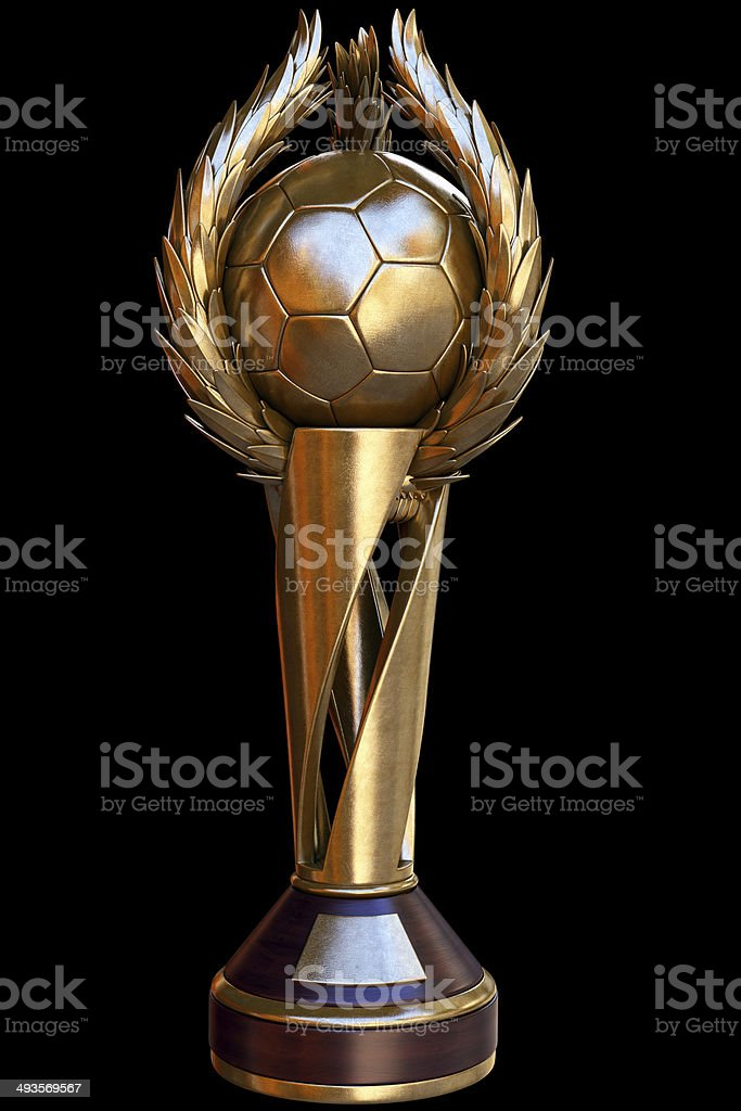 Football Cup a1 royalty-free stock photo