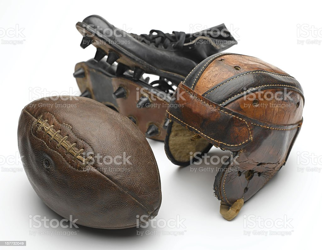 Football Equipment stock photo