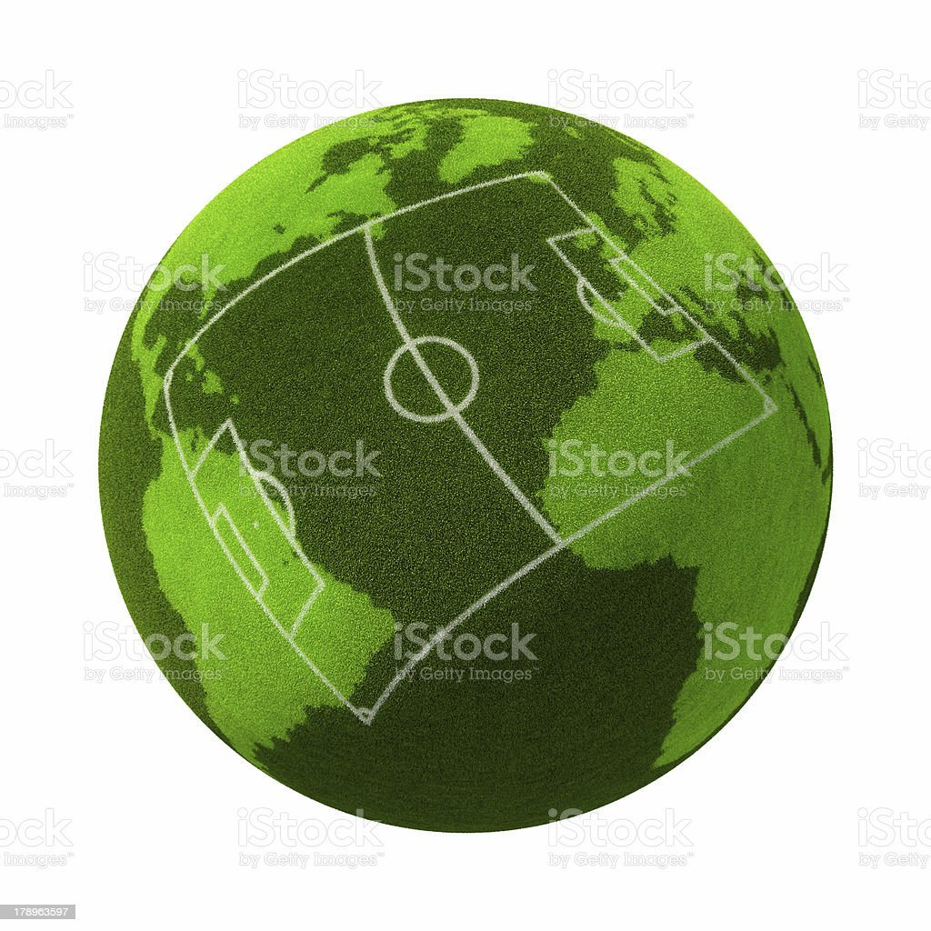 Football: Europe vs South America royalty-free stock photo