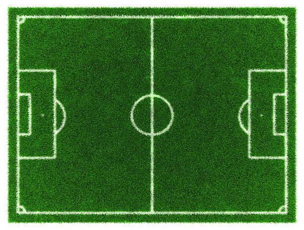 Football-Feld – Foto