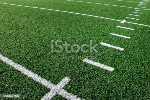 Football field background.  Please see my portfolio for other sport related images.