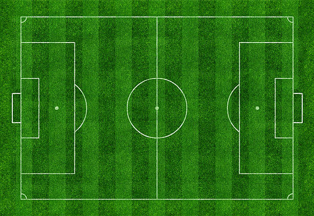 football field - soccer field stock photos and pictures